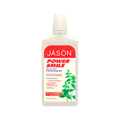 Ополаскиватель Jason Powersmile Brightening Peppermint Mouthwash (Объем 473 мл)