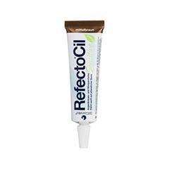 Окрашивание бровей Refectocil Краска для бровей и ресниц коричневая (Цвет Коричневый variant_hex_name 5A3D2D) refectocil кисть для окраски бровей и ресниц жесткая