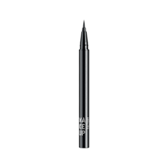 Подводка Make Up Factory Calligraphic Eye Liner 01 (Цвет 01 Black variant_hex_name 000001) карандаш для глаз make up factory automatic eyeliner 01 цвет 01 black velvet variant hex name 000001