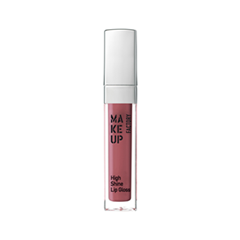 Блеск для губ Make Up Factory High Shine Lip Gloss 56 (Цвет 56 Rose Woods variant_hex_name A5585F) блеск для губ make up secret lip gloss lgm01 цвет lgm01 variant hex name e5bab2