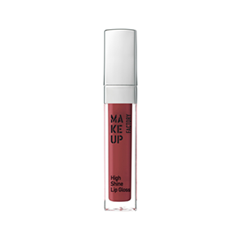 Блеск для губ Make Up Factory High Shine Lip Gloss 64 (Цвет 64 Exquisite Red variant_hex_name 7D3638)