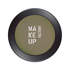 Тени для век Make Up Factory Mat Eye Shadow 45 (Цвет 45 Dark Olive variant_hex_name 82765D) make up factory eye shadow brush small кисть для век малая 11 гр