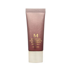 BB крем Missha M Signature Real Complete BB Cream SPF2 PA++ 21 20ml (Цвет 21 Light Beige (20 мл) variant_hex_name F4C9B0) насадки для зубной щетки oral b eb30