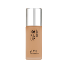 Тональный крем для жирной кожи Make Up Factory Oil-Free Foundation 21 (Цвет 21 Natural variant_hex_name C6AA8A) помада make up factory make up factory ma120lwhdq61