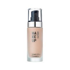 Тональный крем для сухой кожи Make Up Factory Velvet Lifting Foundation 10 (Цвет 10 Rosy Beige variant_hex_name D6B39D)