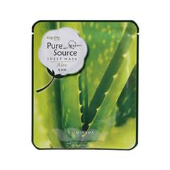 Тканевая маска Missha Pure Source Sheet Mask Aloe (Объем 21 г)