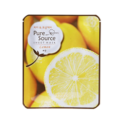 Тканевая маска Missha Pure Source Sheet Mask Lemon (Объем 21 г)