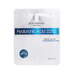 Тканевая маска Missha Real Essential Sheet Mask Hyaluronic Acid (Объем 25 г)