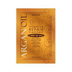 Маска Kativa Восстанавливающая маска с маслом Арганы (Объем 12 х 35 г)
