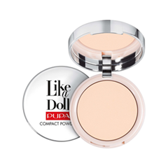 Пудра Pupa Like a Doll Compact Powder 01 (Цвет 01 Porcelain variant_hex_name FBDCC6 Вес 50.00) пудра pupa silk touch compact powder 05