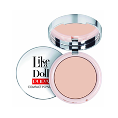 Пудра Pupa Like a Doll Compact Powder 02 (Цвет 02 Sublime Nude variant_hex_name E8C5B7 Вес 50.00)