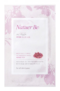 Тканевая маска - Natuer Be 36.5 Chinese Matrimony Vine Mask Sheet