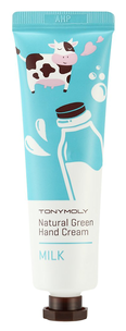 Крем для рук - Natural Green Hand Cream - Milk