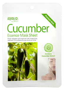 Тканевая маска - Cucumber Essence Mask Sheet