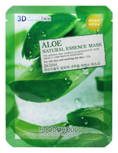 Тканевая маска - Aloe Gram Natural Essence 3D Mask
