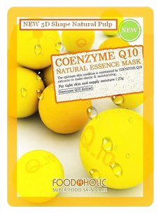 Тканевая маска - Coyemzyme Q10 Natural Essence 3D Mask