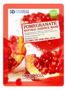 Тканевая маска - Pomegranate Natural Essence 3D Mask