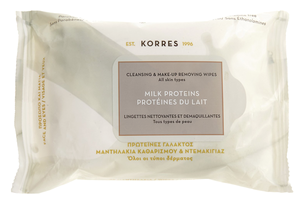 Влажные салфетки - Milk Proteins Cleansing And Make Up Removing Wipes For All Skin Types