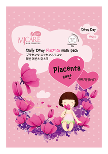 Тканевая маска - Daily Dewy Placenta Mask Pack
