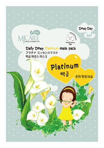 Тканевая маска - Daily Dewy Platinum Mask Pack