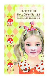 Патчи для носа - Secret Pure Nose Clear Kit 1•2•3