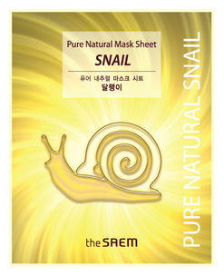 Тканевая маска - Pure Natural Mask Sheet Snail