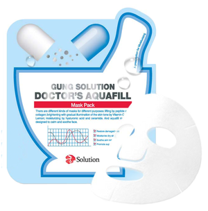 Тканевая маска - Gung Solution Doctor's Aquafill Mask Pack