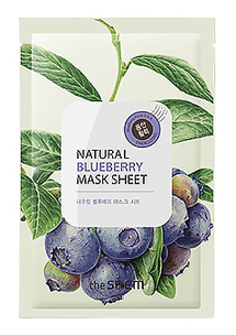 Тканевая маска - Natural Blueberry Mask Sheet