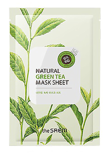 Тканевая маска - Natural Green Tea Mask Sheet