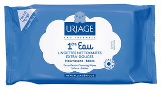 Для детей Uriage Детские салфетки 1-ere Eau Lingettes Nettoyantes (Объем 25 шт.)