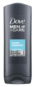 Гель для душа - Men+Care Clean Comfort Body and Face Wash