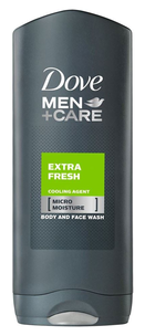 Гель для душа - Men+Care Extra Fresh Body and Face Wash