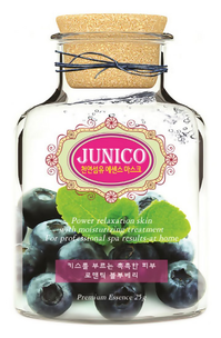Тканевая маска - Junico Blueberry Essence Mask