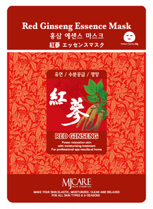 Тканевая маска - Red Ginseng Essence Mask