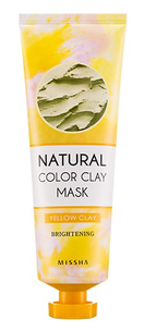 Маска - Natural Color Clay Mask Brightening