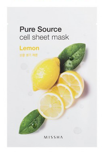 Тканевая маска - Pure Source Cell Sheet Mask Lemon