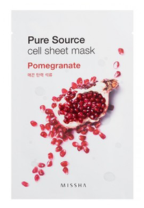 Тканевая маска - Pure Source Cell Sheet Mask Pomegranate