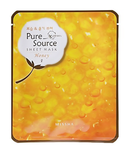 Тканевая маска - Pure Source Sheet Mask Honey