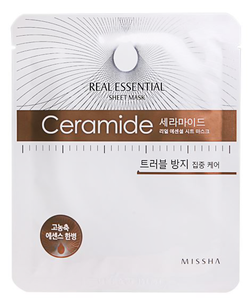 Тканевая маска - Real Essential Sheet Mask Ceramide