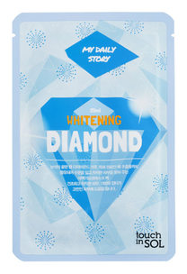 Тканевая маска - My Daily Story Whitening Diamond