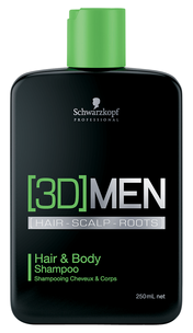 Шампунь - [3D]MEN Hair & Body Shampoo