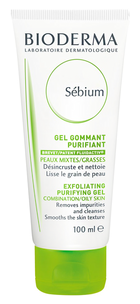 Акне - Гель гуммирующий Bioderma Sebium Exfoliating Purifying Gel