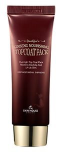 Ночная маска - Ginseng Nourishing Top Coat Pack