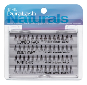 Накладные ресницы - Duralash Naturals Knot-Free Flairs Combo Pack Black