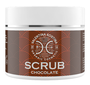 Скрабы и пилинги - Шоколадный скраб Organic Cosmetic Chocolate Scrub