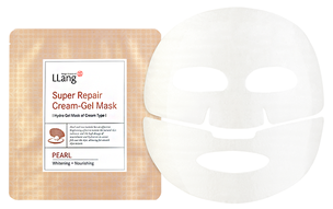 Гидрогелевая маска - Super Repair Cream-gel Mask Pearl