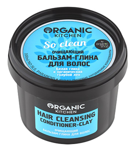 "Бальзам - Organic Kitchen Hair Cleansing Conditioner-Clay ""So clean!"""