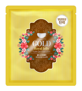 Гидрогелевая маска - Gold & Royal Jelly Hydro Gel Mask Pack