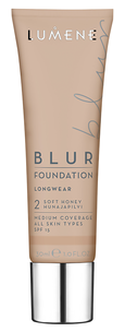 Blur Foundation Longwear SPF 15 2 (Цвет 2 Soft Honey variant_hex_name CBA990)