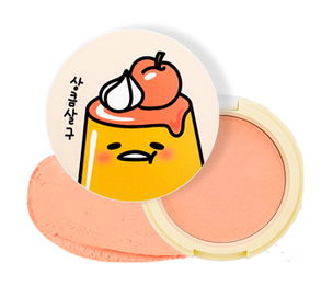 Gudetama Jelly Dough Blusher OR01 (Цвет OR01 variant_hex_name fdb293)